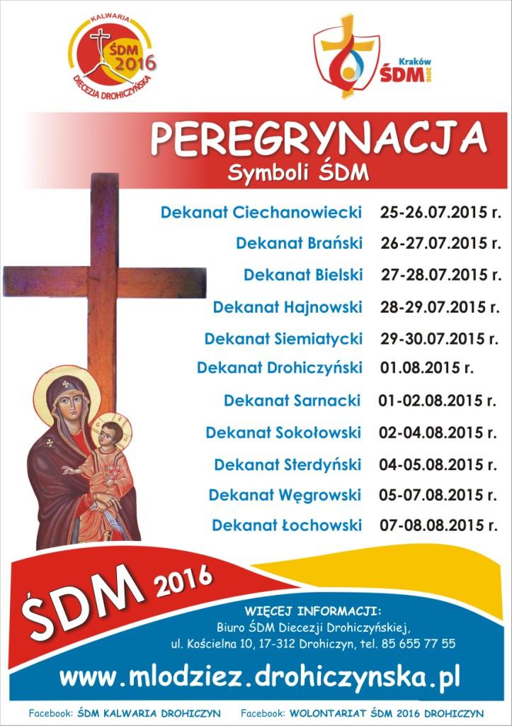 Peregrynacja_Znaki ŚDM