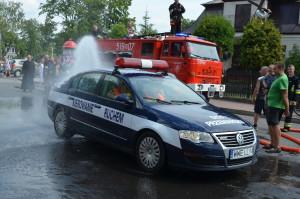 Mycie samochodu służb pielgrzymkowych