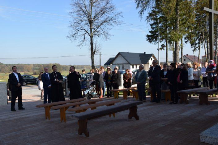 Pobłogosławienie kaplicy_Żurobice_22.10.2019