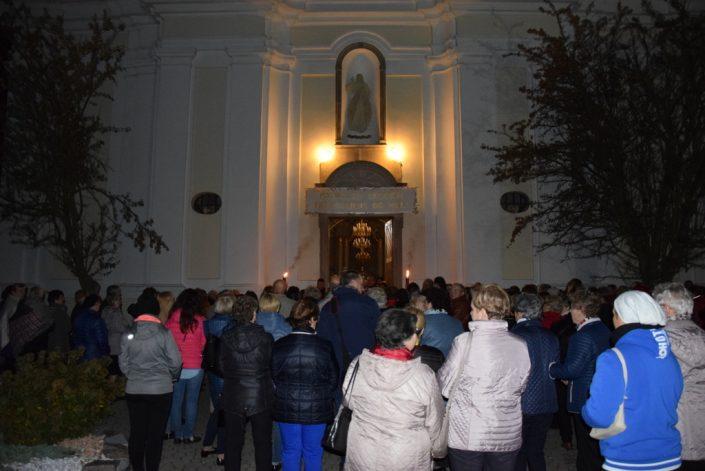 Spotkanie członków kół Żywego Różańca_Ciechanowiec_19.10.2019