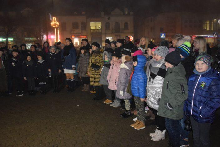 Przekazanie Betlejemskiego Światła Pokoju_Bielsk Podlaski_19.12.2019