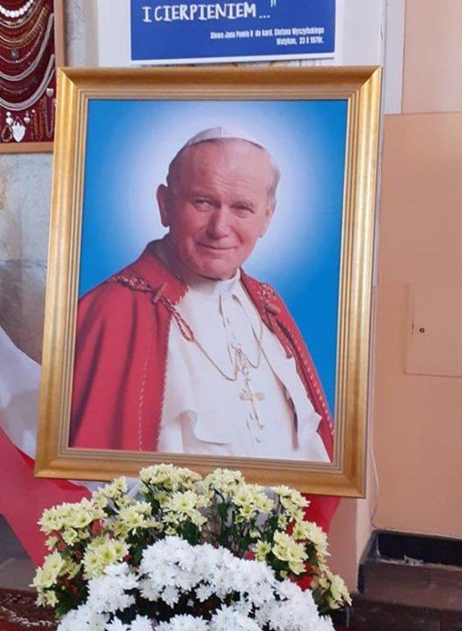 100. rocznca urodzin św. Jana Pawła II_Hajnówka_17.05.2020