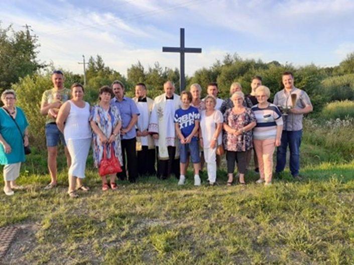 Poświęcenie krzyża w Hajnówce_19.07.2020