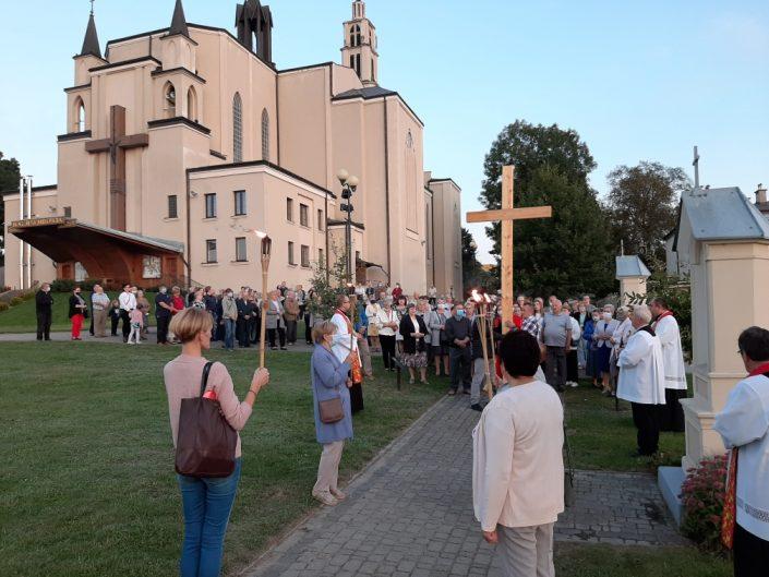 Uroczystość Podwyższenia Krzyża Świętego_Sokołów Podlaski_14.09.2020