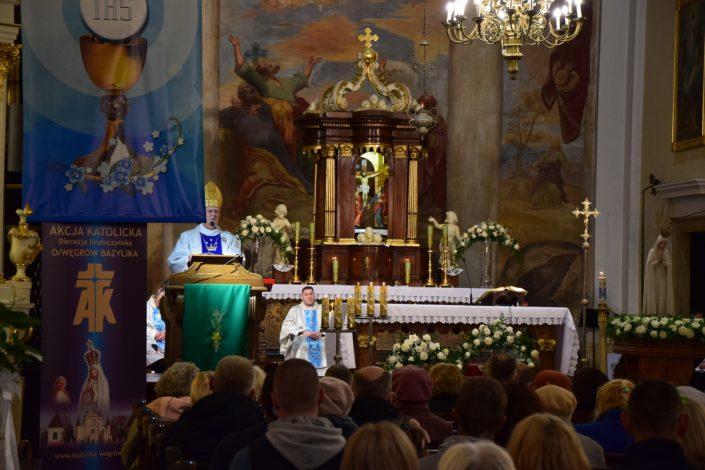 Nabożeństwo fatimskie_Węgrów_13.10.2020