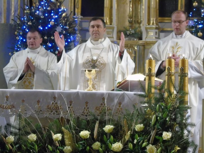 Niedziela Chrztu Pańskiego w bazylice_Bielsk Podlaski_10.01.2021