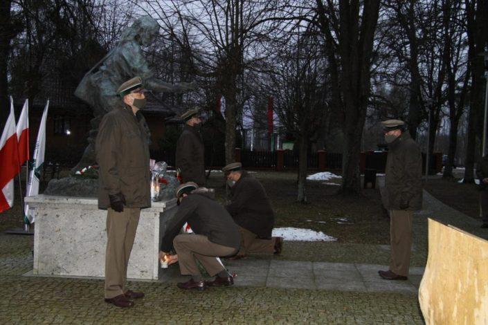 Dzień Pamięci Żołnierzy Wyklętych_Narewka_1.03.2021