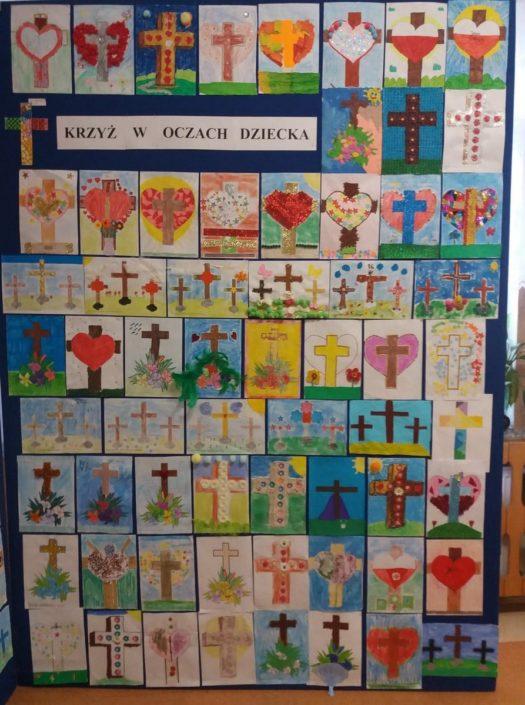 Krzyż w oczach dziecka_SP nr 3_Siemiatycze