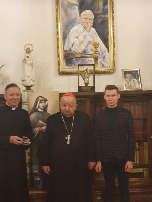 Spotkanie z Ks. Kardynałem S. Dziwiszem_24.03.2020