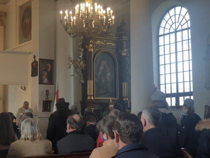Uroczystość Najświętszej Maryi Panny Królowej Polski i 230. rocznica uchwalenia Konstytucji 3 maja_Jabłonna Lacka_3.05.2021