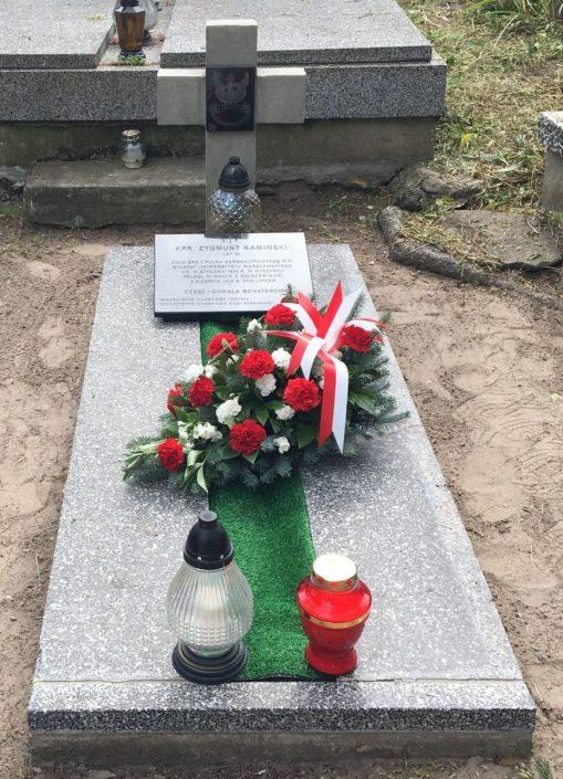 Poświęcenie żołnierskiego grobu_Sarnaki_1.08.2021
